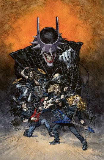[ACTU] Batman Death Metal : collaboration avec des grands noms du metal