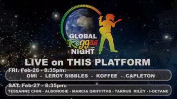 Reggae Month Jamaica, February 27 – Global reggae Night Pt2, In The Studio with Errol Dunkley & Leroy Sibbles