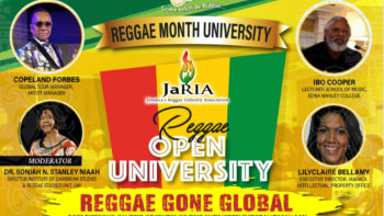 Reggae Month Jamaica, February 25 – Children of the Icons Rewind (8), Reggae Open University, In the Studio with Shirley McLean and Home-T and more young ambassadors