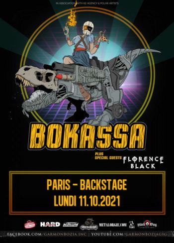 [ACTU] Bokassa et Florence Back en concert parisien