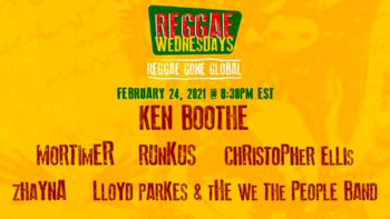 Reggae Month Jamaica, February 24 – Jaria Reggae Wednesdays and In the Studio with Winston McAnuff