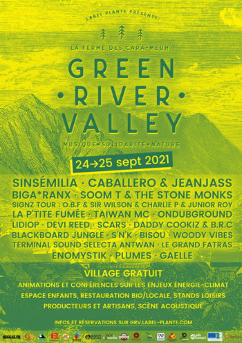 [ACTU] Green River Valley Festival - 24, 25 septembre 2021