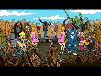 La release party pourGrand Guignol Orchestrade Pensées Nocturnes s'écoute et se visionne dans...