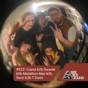 SSS Podcast #522 : Cueist b2b Dwarde b2b Medallion Man b2b Sevic b2b T Dunn